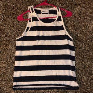 Zara small striped tank women
